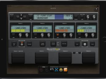 Quantiloop 2 convierte tu iPad en un pedal looper cuádruple