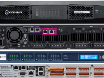 Harman añade AES67 a interfaces BSS y amplificadores Crown Dante