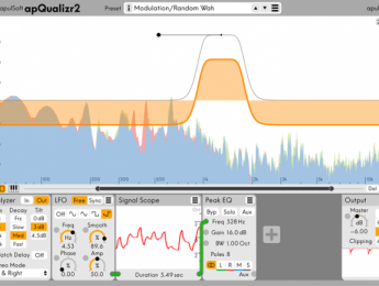 Segunda versión del ecualizador apQualizr de apulSoft