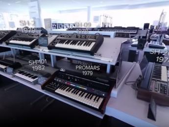 Roland abre las puertas de su museo con un vídeo 360º