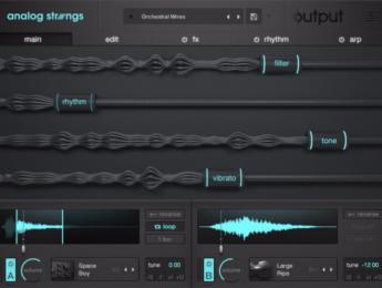 Con Analog Strings, Output quiere pensar diferente el sonido de las cuerdas