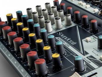Soundcraft NotePad 5, 8FX y 12FX, mezcladores con USB y efectos Lexicon
