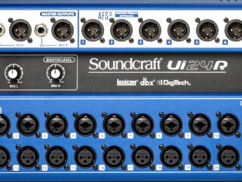 Soundcraft UI24r, más canales de grabación, mezcla y DSP en un rack integrado