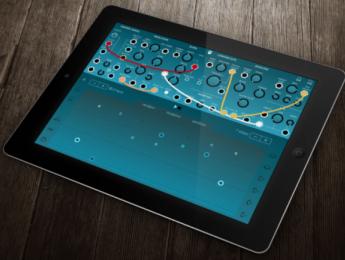 Ripplemaker, sinte semimodular para iOS orientado a la experimentación