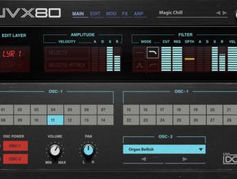 UVI lanza un sintetizador virtual basado en el Akai AX80