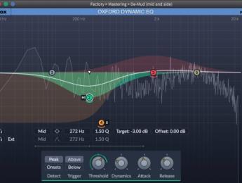 Oxford Dynamic EQ de Sonnox combina compresor y ecualizador