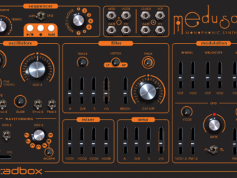 Dreadbox Medusa, otro sinte monofónico analógico de 3 VCOs para diciembre