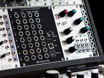Polyend Poly, un interfaz MIDI-CV polifónico de 8 voces