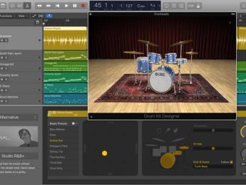 Logic Pro X 10.3.2 añade tres nuevos Drummers