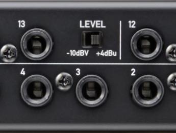 Qué son los niveles de línea -10dBV y +4dBu