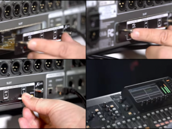Behringer X-Live, tarjeta de grabación multipista para X32