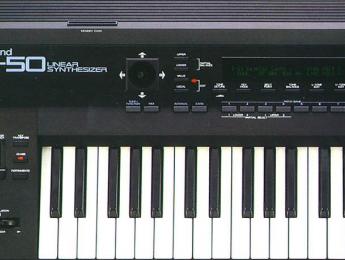 Regresa el Roland D-50, un sintetizador digital de referencia