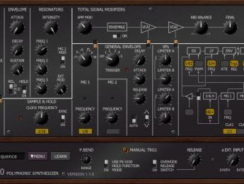 Un plugin gratuito emula el sintetizador monstruo Korg PS-3100