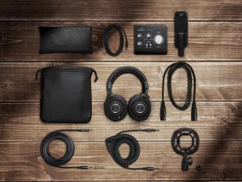 Audio-Technica y Audient se unen en este kit de grabación para home studio