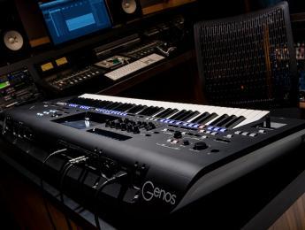 Yamaha Genos funde workstation y arranger en un solo teclado