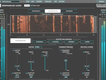 Eventide Elevate, un plugin para mastering multibanda adaptativo