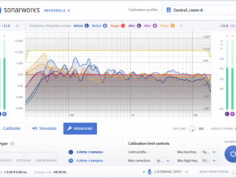 Sonarworks Reference 4, calibración de monitores y auriculares ahora con latencia cero
