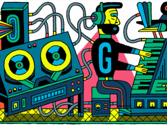 Google conmemora el primer estudio de música electrónica
