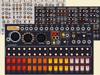 TReasure de Hora Music, una TR-808 modular para VCV Rack