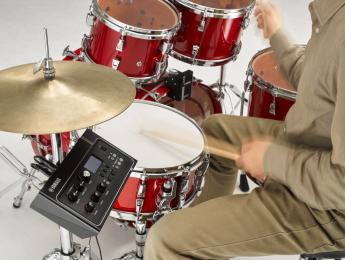 Yamaha EAD-10 convierte una batería acústica en híbrida con un solo micrófono