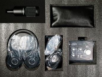 Review de AT2035-Studio, un pack de micrófono, interfaz y auriculares