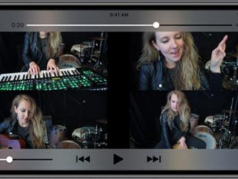 Roland 4XCamera, una app que hace fáciles los vídeos musicales con pantalla dividida