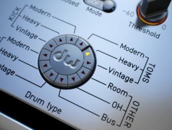Audified DW Drum Enhancer, la batería golpe a golpe