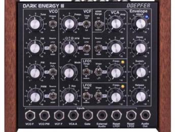 Mayor modificación interna en la tercera generación del sinte Dark Energy de Doepfer