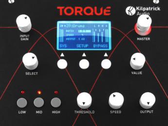 KilpatrickAudio Torque y Redox, compresor multibanda y reverb en hardware