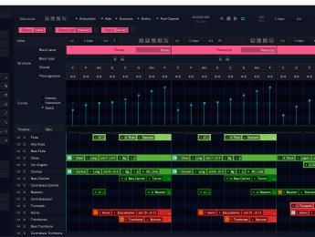 Más detalles de Orb Composer, el asistente de composición con inteligencia artificial