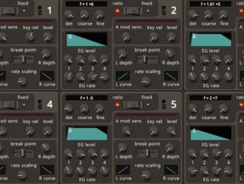 Dexed, el DX7 de código abierto, añade MIDI Learn y versión autónoma