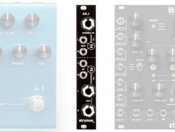 Strymon AA.1, un interfaz entre módulos Eurorack y pedales de guitarra