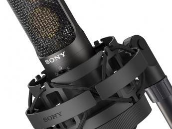 Sony C-100, vuelta a los micrófonos por todo lo alto