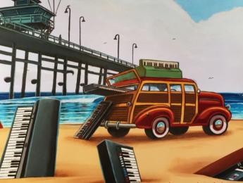 California Keys de Q Up Arts: vuelta a los 60