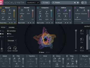 VocalSynth 2 de iZotope quiere ser el procesador definitivo para efectos vocales