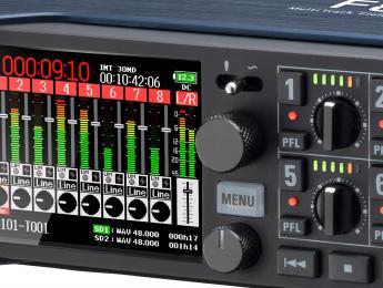 Zoom F8n, un empujoncito a un grabador de campo ya tope de gama