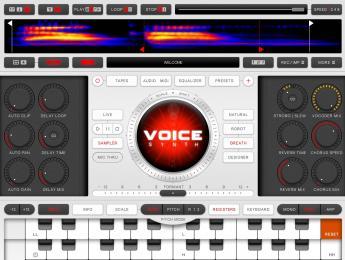 El vocoder VoiceSynth llega a Mac