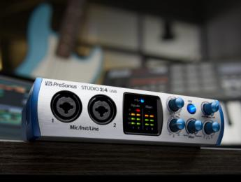 PreSonus Studio 2|4, la pequeña de la familia de interfaces de audio