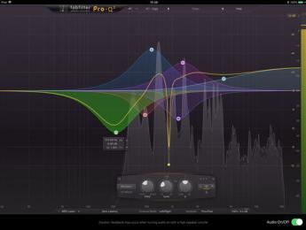 FabFilter llega a iOS con una versión AudioUnit del ecualizador Pro-Q 2