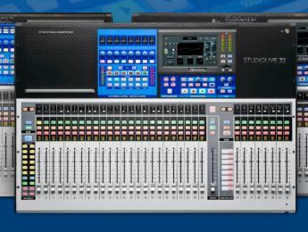 Presonus mejora el firmware de StudioLive III y regala 4 plugins