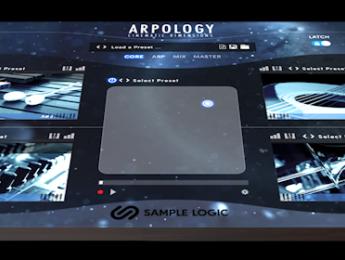Arpology - Cinematic Dimensions, Sample Logic expande su concepto de arpegiador