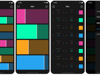 Ribn, un simple pero ingenioso controlador MIDI para iOS