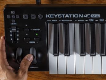 Keystation Mk3, nueva generación de los teclados controladores básicos de M-Audio