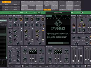 """FXpansion Cypher2, una """"aventura de diseño sonoro"""" con soporte MPE"""