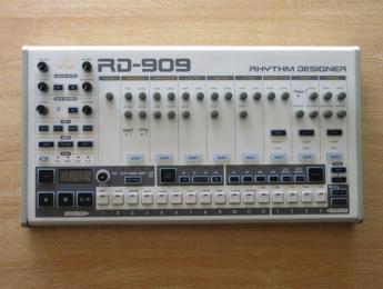 Behringer RD-909: primera imagen del próximo clon de la caja de ritmos TR-909