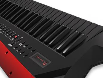 Roland AX-Edge, un sintetizador keytar de aspecto personalizable