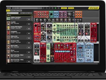 Voltage Modular, un nuevo sintetizador Eurorack virtual