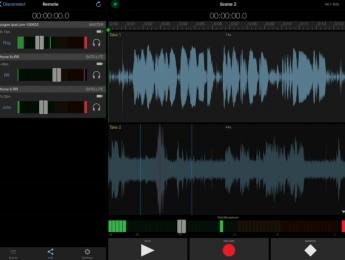Sincronía de vídeo y audio por timecode en iOS: Apogee MetaRecorder 2.0 soporta UltraSync BLUE