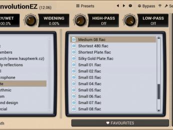 Melda regala MConvolutionEZ, una versión sencilla de su reverb por convolución