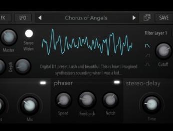 Digital D1, un sinte en código abierto AudioKit
